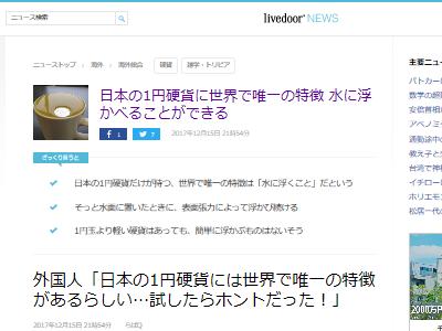 1円玉 日本 浮力に関連した画像-02