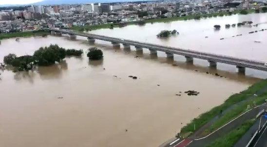 タイムラプス 多摩川 台風に関連した画像-01