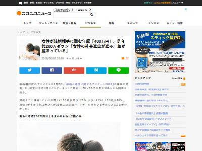 結婚相手 年収 400万円に関連した画像-02