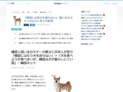 日本 柴犬 韓国に関連した画像-02