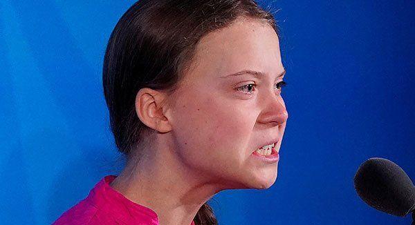グレタ・トゥンベリ 16歳 環境活動家 イタリア ローマ 人形 吊るすに関連した画像-01