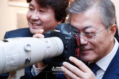日韓外相会談 河野太郎 外務大臣 韓国人記者 カメラに関連した画像-05