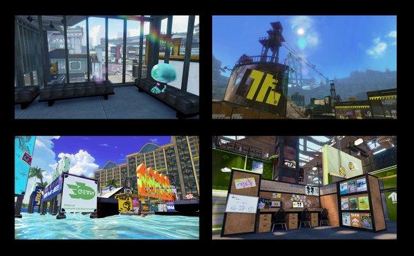 スプラトゥーン ステージ アップデート アンチョビットゲームズに関連した画像-11