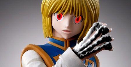 ハンターハンター クラピカ フィギュア 緋の眼 光るに関連した画像-01