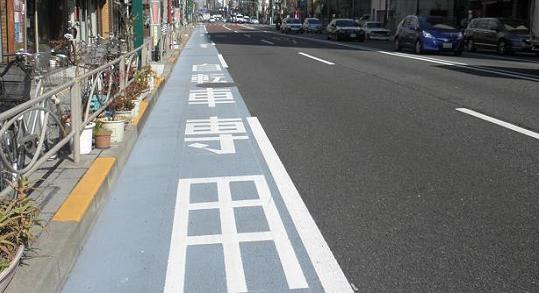 自転車専用レーン路上駐車問題に関連した画像-01