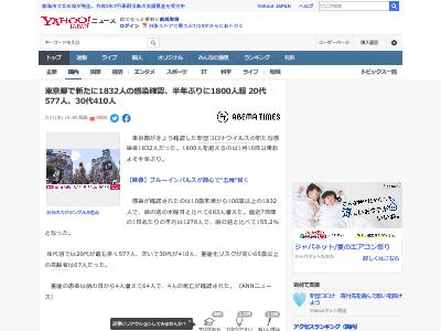 東京都 新型コロナウイルス 菅首相 感染者 東京五輪に関連した画像-02