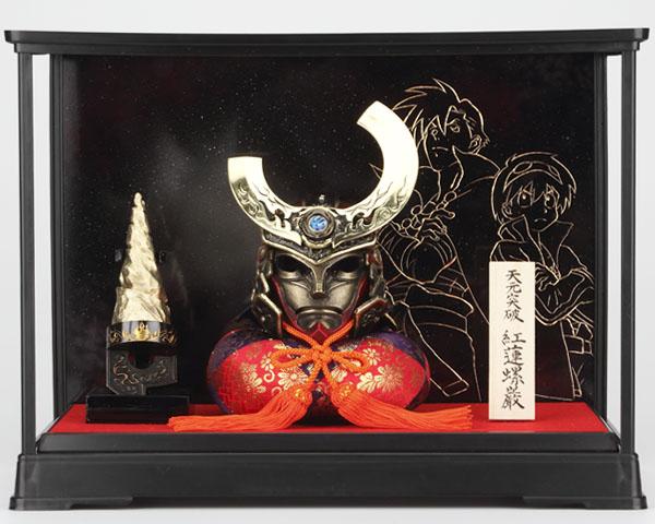 天元突破グレンラガン 五月人形兜飾りに関連した画像-07