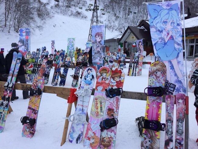 オタク 判別 スキー スノボー 趣味 に関連した画像-03