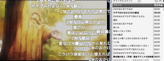 デス・パレード ニコニコ動画 CM コメント に関連した画像-02