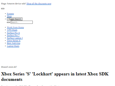Xbox Lockhartに関連した画像-02