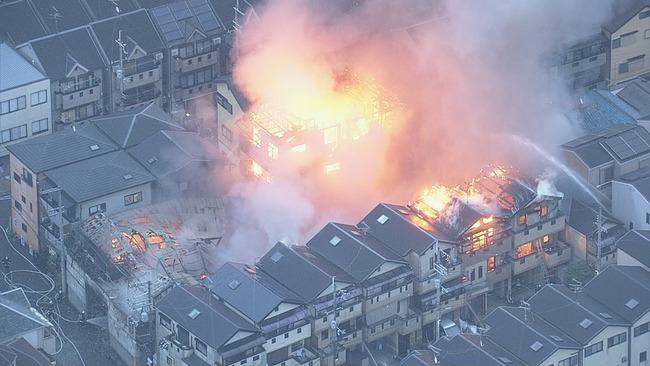 大阪 ウレタン工場 火災に関連した画像-03