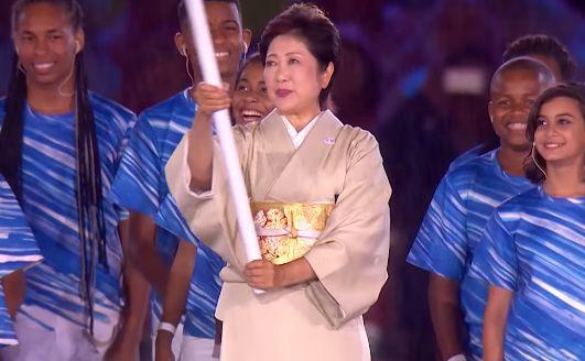 小池百合子 着物 リオ オリンピック 高級に関連した画像-01