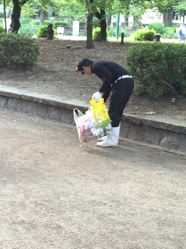 ポケモンGO 聖地 鶴舞公園 ゴミ拾い ロケット団 団員に関連した画像-03