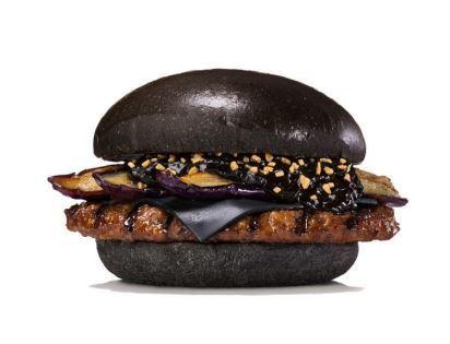 バーガーキング ハンバーガー 黒 黒将軍 KURO AKA 赤侍に関連した画像-01