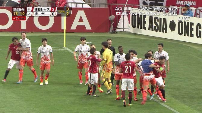 エルボー 韓国 サッカーに関連した画像-04
