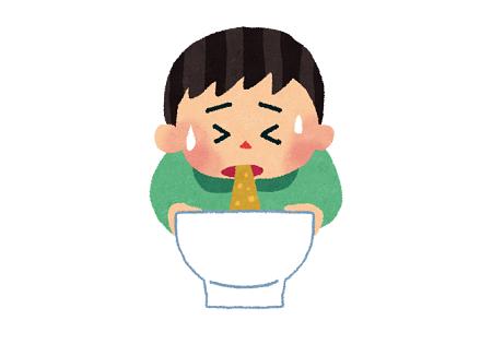 嘔吐 無職 割合 食べ過ぎに関連した画像-01