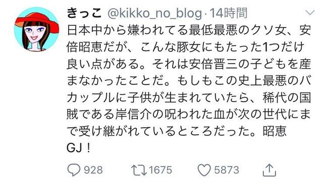 安倍晋三 安倍総理 安倍首相 木村花 左翼 誹謗中傷 ダブスタ お前が言うなに関連した画像-17