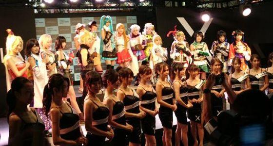 東京ゲームショウ TGS コンパニオン サイバーコネクトツー 松山洋 CC2 コンパニオンに関連した画像-01