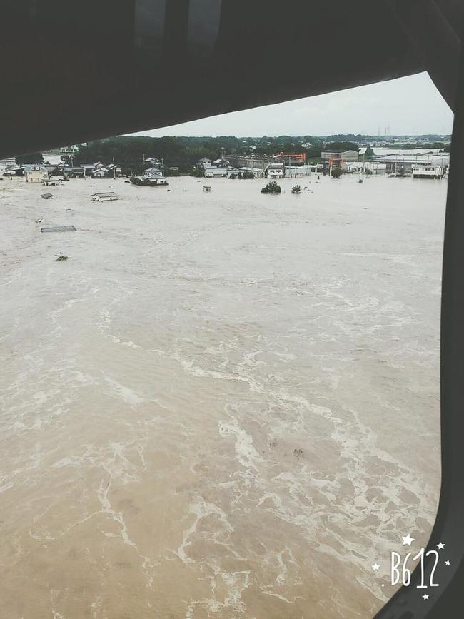 茨城県 大雨 救助 ツイッターに関連した画像-04