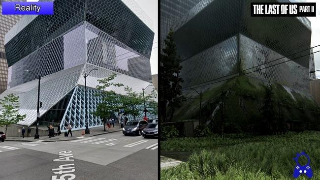 ラストオブアス2 シアトル 比較動画に関連した画像-05
