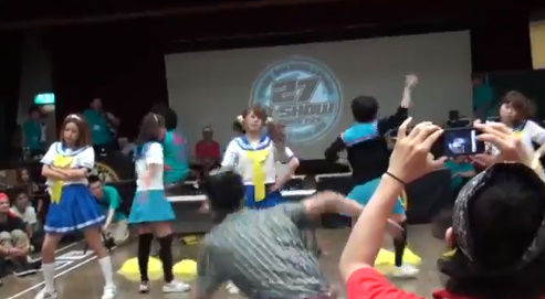 らきすた ダンス 乱入 オタク RAB 涼宮あつき ダンサーに関連した画像-03