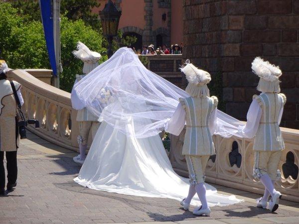 西又葵 結婚式 ディズニーランド シンデレラ城 イラストレーター 三宅淳一に関連した画像-09