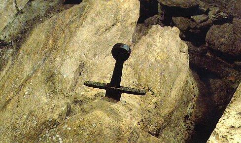 アーサー王物語 エクスカリバー イタリアトスカーナ地方 聖ガルガーノ修道院 剣に関連した画像-02