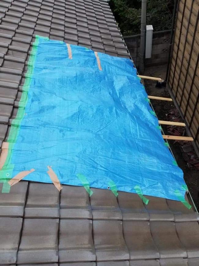 千葉 台風 停電 屋根 ブルーシート 業者 ボッタクリ 詐欺に関連した画像-02