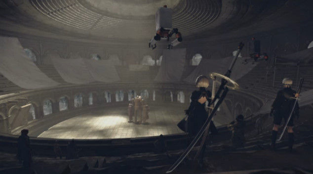 ニーアオートマタ DLC あやまりロボ コロシアムに関連した画像-10