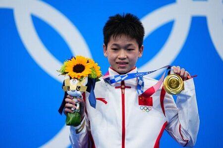 中国 共産 金メダル 東京 オリンピック 飛び込み 女子 インタビュー 言語 広東語 北京語に関連した画像-01