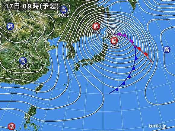 天気予報 嵐 台風 吹雪に関連した画像-03