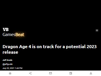 ドラゴンエイジ4 2023年 EAに関連した画像-02