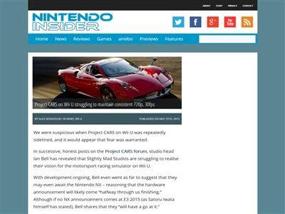 プロジェクトカーズ WiiU 720p 30fpsに関連した画像-02