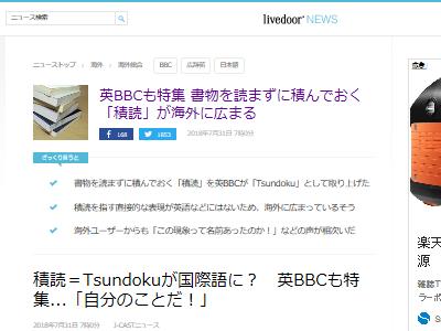 積読 日本語 英語 Tsundoku 本 読書 海外に関連した画像-02