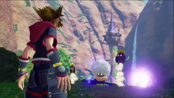 キングダムハーツ3 ラプンツェル E3最新映像に関連した画像-01