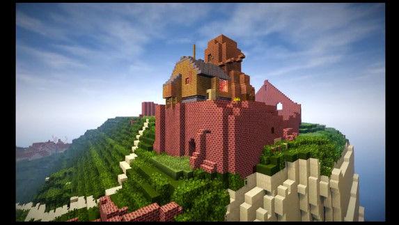 天空の城ラピュタ マインクラフト マイクラ 職人 完全再現に関連した画像-12