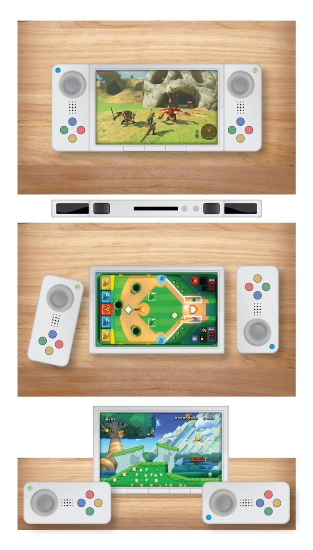任天堂 NX モックアップに関連した画像-05