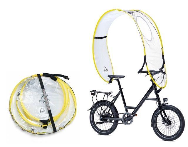 自転車 雨 傘 dryveに関連した画像-04