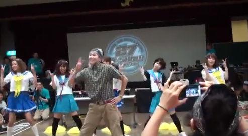らきすた ダンス 乱入 オタク RAB 涼宮あつき ダンサーに関連した画像-04