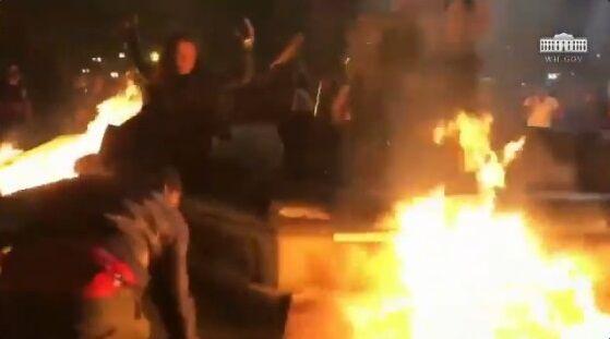 ホワイトハウス BLM デモ 暴動 衝撃映像公開に関連した画像-01
