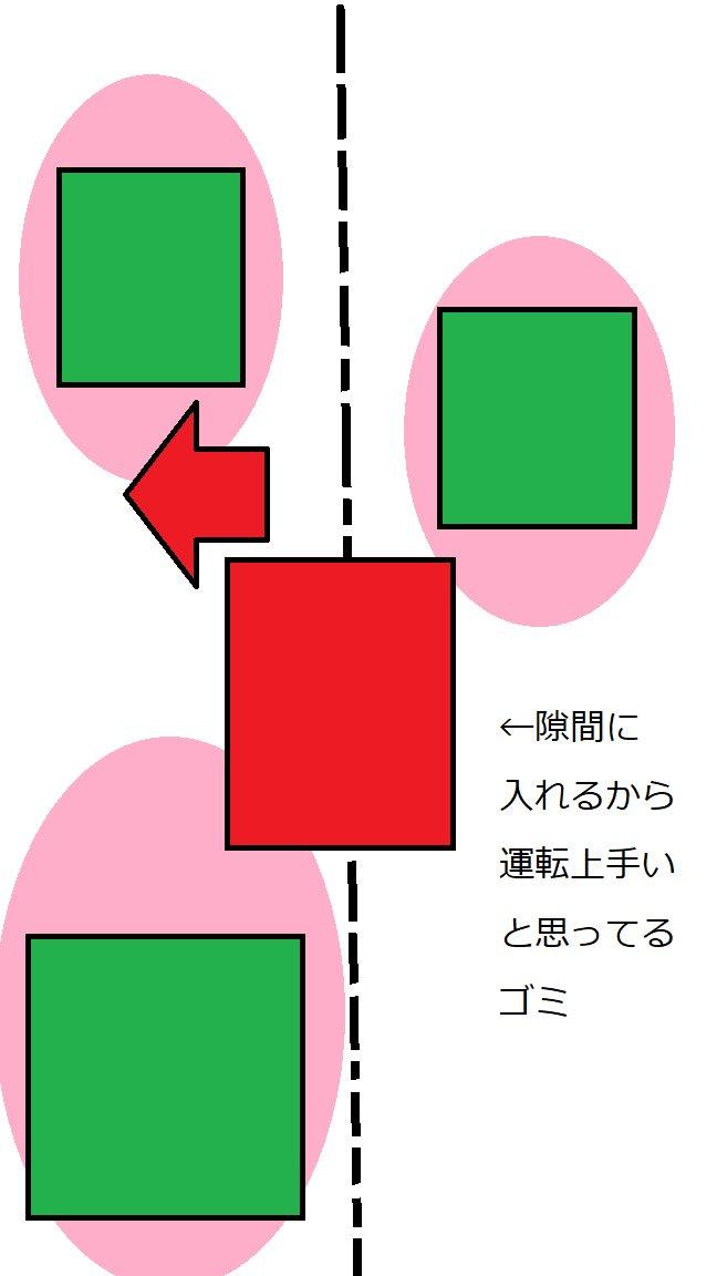 運転 割り込み 道路 ドライバー 車 に関連した画像-03