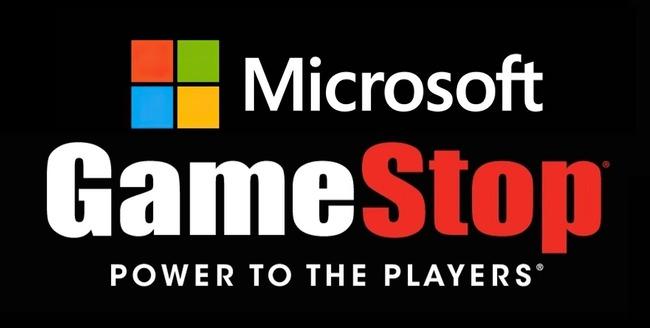 マイクロソフト GameStop 提携に関連した画像-01