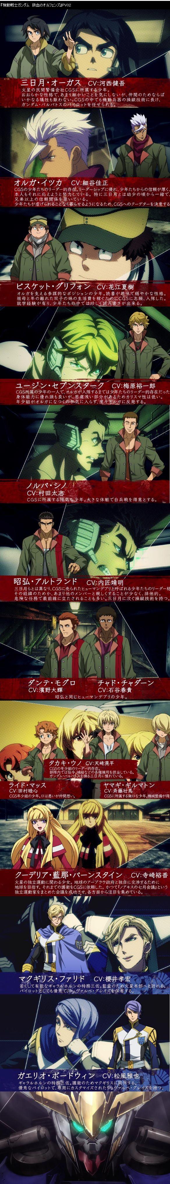 鉄血のオルフェンズ マンウィズアミッション 河西健吾に関連した画像-02