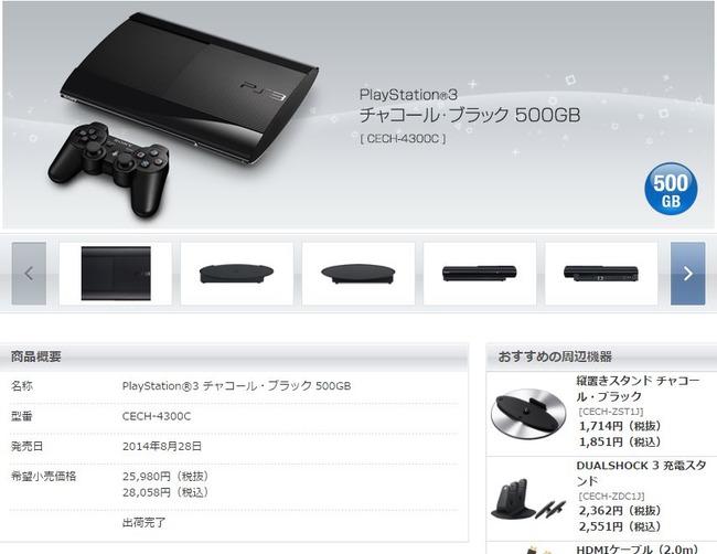 PS3 日本 国内 出荷に関連した画像-03