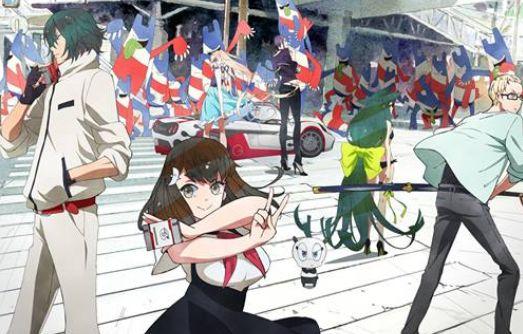ガッチャマンクラウズ インサイト キービジュアル 夏アニメに関連した画像-01