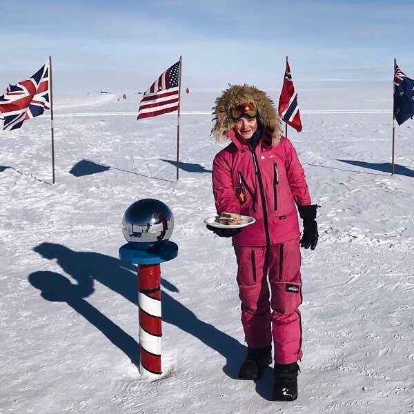 北極点 南極点 サンドイッチ 女性 批判 賞賛に関連した画像-03