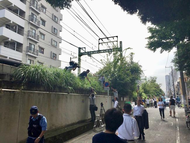 京急線 脱線 衝突 トラック 事故 マスコミ 線路 無許可 警察に関連した画像-07