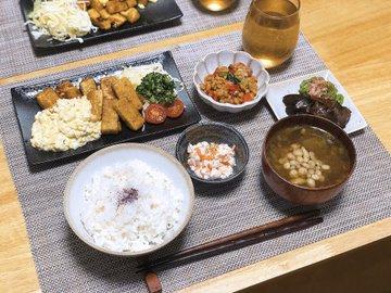 嫁 夫 専業主婦 ひと月 食費 1.5万円 食卓に関連した画像-02