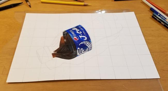 高校生 ペプシコーラ 絵 色鉛筆 描く に関連した画像-03