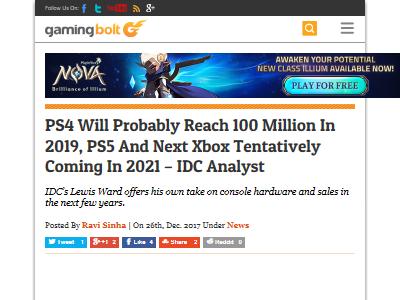 PS4 2019年 PS5 2021年に関連した画像-02